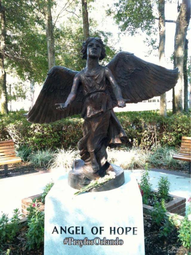 Angel of Hope Pray for Orlando